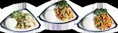 Chinees-Indische plates